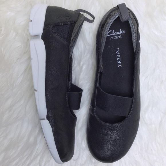 8e616660c Clarks Shoes - Clark s Trigenic sporty Mary Jane comfort slip ons